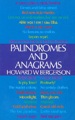 Image for PALINDROMES AND ANAGRAMS