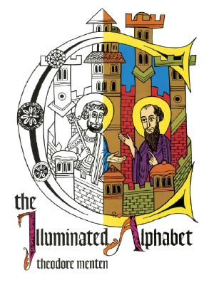 The Illuminated Alphabet (Colouring Books), THEODORE MENTEN
