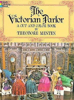 Image for Victorian Parlor: A Cut and Color Book