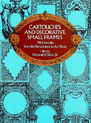 Image for Cartouches and Decorative Small Frames (Dover Pictorial Archives)