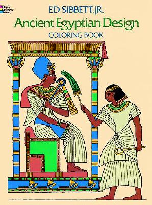 Image for Ancient Egyptian Designs Coloring Book (Dover Design Coloring Books)