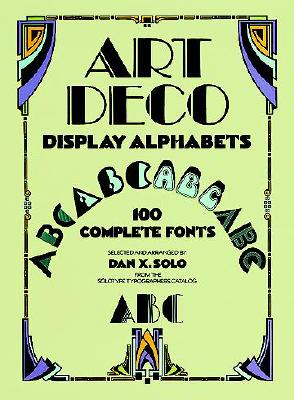Image for Art Deco Display Alphabets (Dover Pictorial Archive Series)