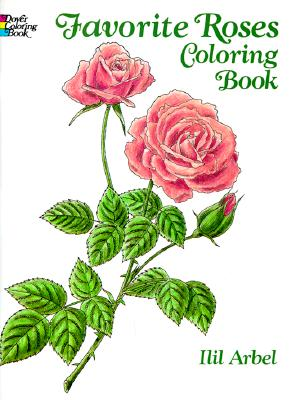 Image for Favorite Roses Coloring Book (Dover Nature Coloring Book)