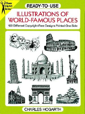 Image for ILLUSTRATIONS OF WORLD FAMOUS PLACES