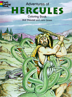 Image for Adventures of Hercules Coloring Book