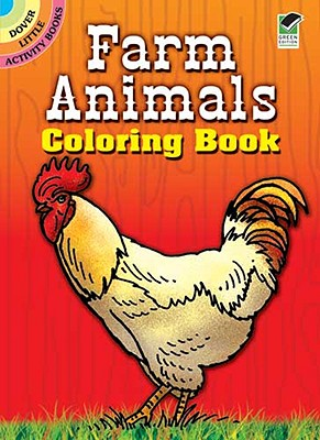 Image for Farm Animals Coloring Book (Dover Little Activity Books)
