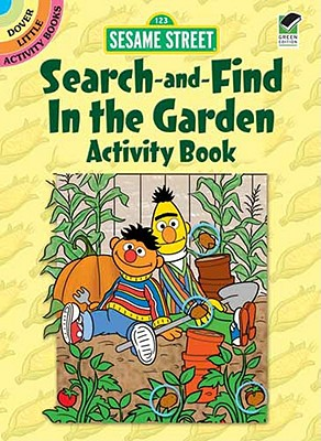 Image for Sesame Street Search-and-Find In the Garden Activity Book (Sesame Street Activity Books) (English and English Edition)