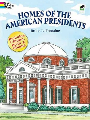 Image for Homes of the American Presidents Coloring Book (Dover History Coloring Book)