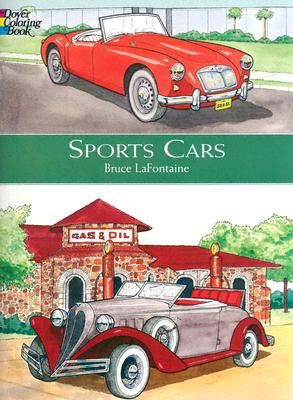 Image for Sports Cars (Dover Coloring Books)
