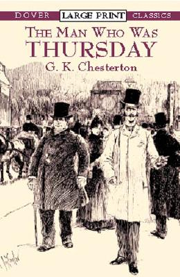 Image for Man Who Was Thursday (Dover Large Print Classics)