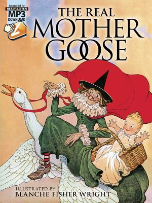 Image for The Real Mother Goose: with MP3 Downloads (Dover Read and Listen)