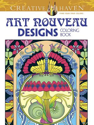 Image for Creative Haven Art Nouveau Designs Collection Coloring Book (Creative Haven Coloring Books)
