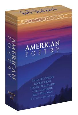 Image for American Poetry Boxed Set (Dover Thrift Editions)