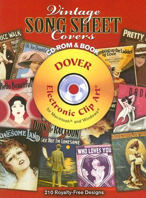 Image for Vintage Song Sheet Covers CD-ROM and Book (Dover Electronic Clip Art)