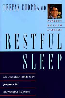 Image for RESTFUL SLEEP THE COMPLETE MIND/BODY PROGRAM FOR OVERCOMING INSOMNIA
