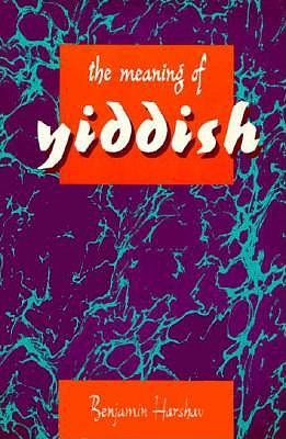 Image for The Meaning of Yiddish