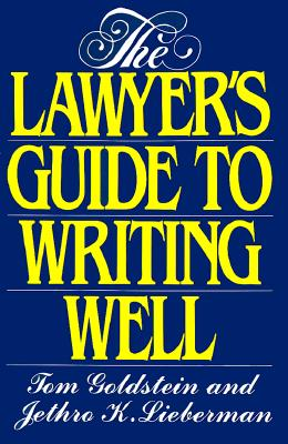 Image for The Lawyer's Guide to Writing Well
