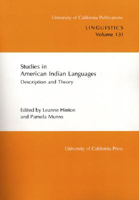 Image for Studies in American Indian Languages (UC Publications in Linguistics)