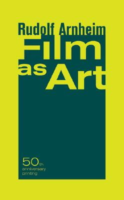 Image for Film as Art, 50th Anniversary Printing