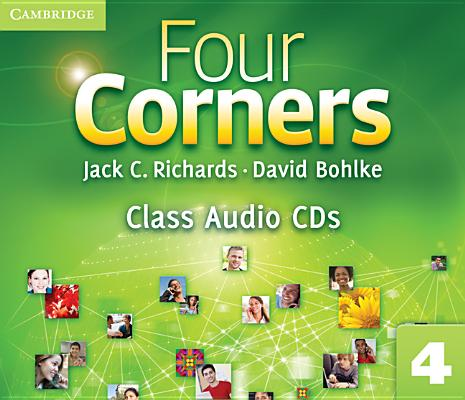Four Corners Level 4 Class Audio CDs (3), Richards, Jack C.; Bohlke, David