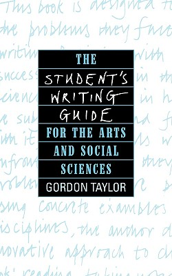 Image for Student's Writing Guide for the Arts and Social Sciences