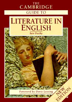 Image for CAMBRIDGE GUIDE TO LITERATURE IN ENGLISH