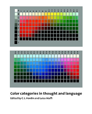 Image for Color Categories in Thought and Language
