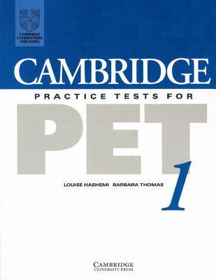 Image for Cambridge Practice Tests for PET 1 Student's Book