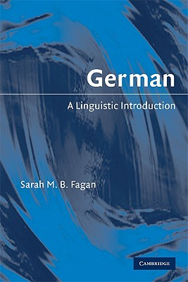 Image for German: A Linguistic Introduction
