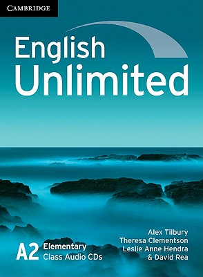Image for English Unlimited A2 Elementary Class Audio CD