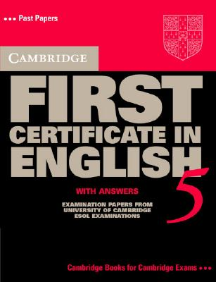 Image for Cambridge First Certificate in English 5 Student's Book with Answers