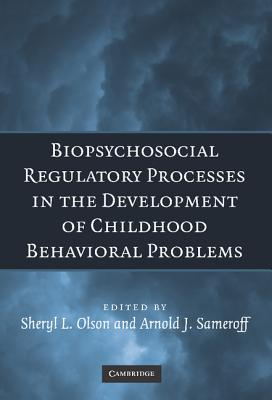 Image for Biopsychosocial Regulatory Processes in the Development of Childhood Behavioral Problems