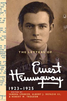 Image for LETTERS OF ERNEST HEMINGWAY  1923-25