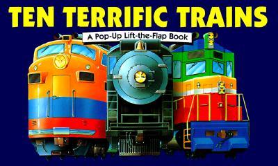 Image for TEN TERRIFIC TRAINS