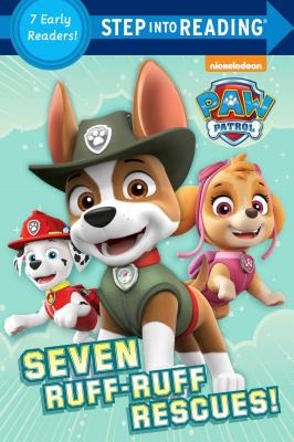 Image for Seven Ruff-Ruff Rescues! (PAW Patrol) (Step into Reading)