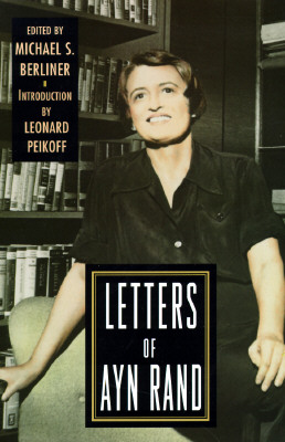 Image for LETTERS OF AYN RAND