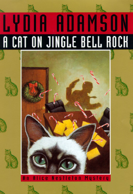 Image for A cat on jingle bell rock