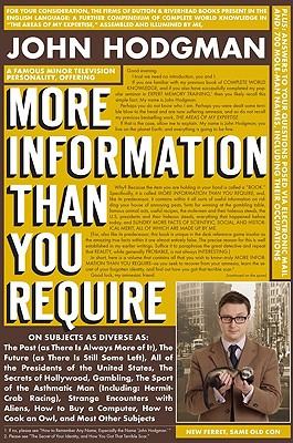 More Information Than You Require, John Hodgman