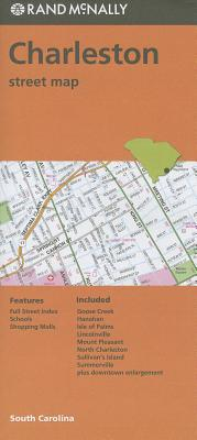 Folded Map: Charleston Street Map (Rand Mcnally), Rand McNally
