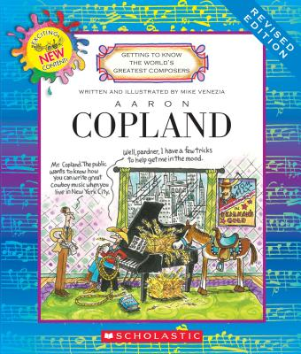 Image for AARON COPELAND GETTING TO KNOW THE WORLD'S GREATEST COMPOSERS