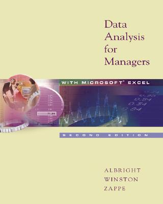 Image for Data Analysis for Managers with Microsoft Excel (with CD-ROM and InfoTrac )