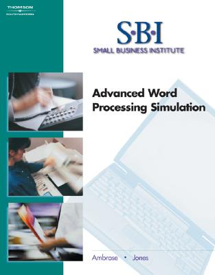 Image for SBI: Advanced Word Processing Simulation
