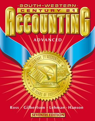 Image for Century 21 Accounting 7E Advanced Course - Text: Chapters 1-24