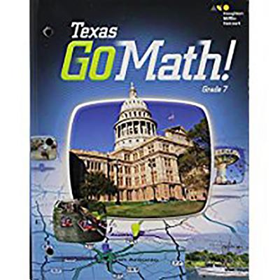 Image for Go Math: Student Interactive Worktext Grade 7 2015