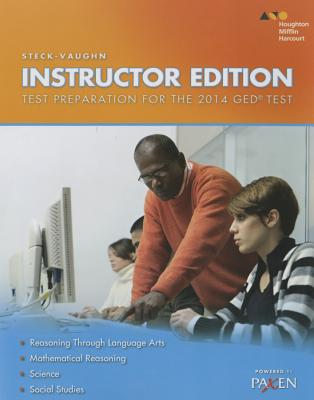 Image for Steck-Vaughn GED: Test Prep Instructor's Guide 2014