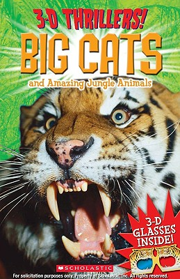 Image for 3-D Thrillers: Big Cats and Ferocious Jungle Animals