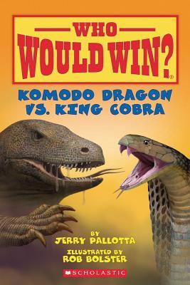 Image for Komodo Dragon vs. King Cobra (Who Would Win?)