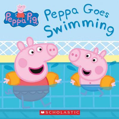 Image for Peppa Goes Swimming (Peppa Pig)