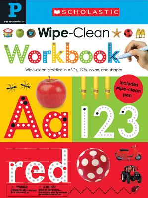Image for Wipe Clean Workbook: Pre-K (Scholastic Early Learners)
