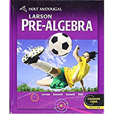 Image for Holt McDougal Larson Pre-Algebra: Student Edition 2012